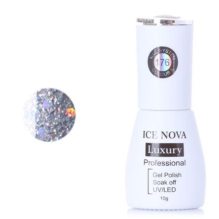 Купить Гель-лак Ice Nova, Luxury №176