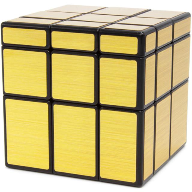 Купить Зеркальный кубик, Головоломка QiYi MoFangGe Mirror Blocks Черно-золотой,