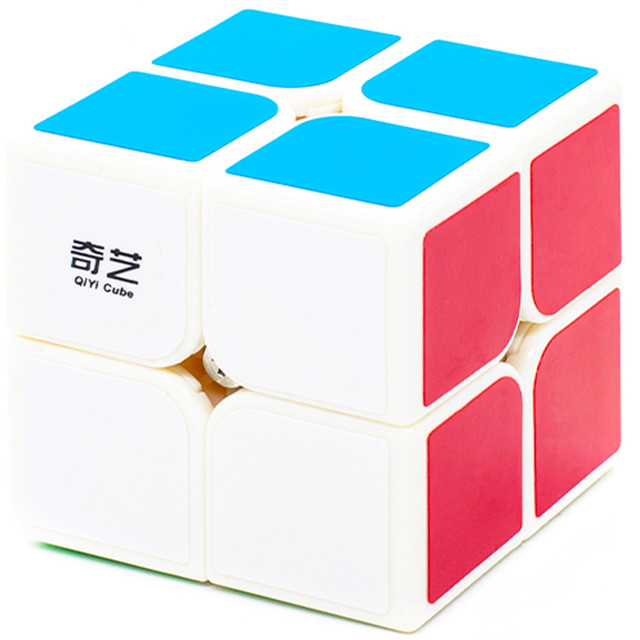 Купить Головоломка QiYi MoFangGe 2x2x2 QiDi S Белый, Игрушки головоломки