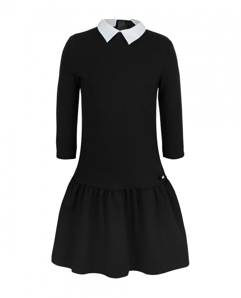 Купить 219GSGC5001, Платье для девочек Gulliver, цв. черный, р-р 164,