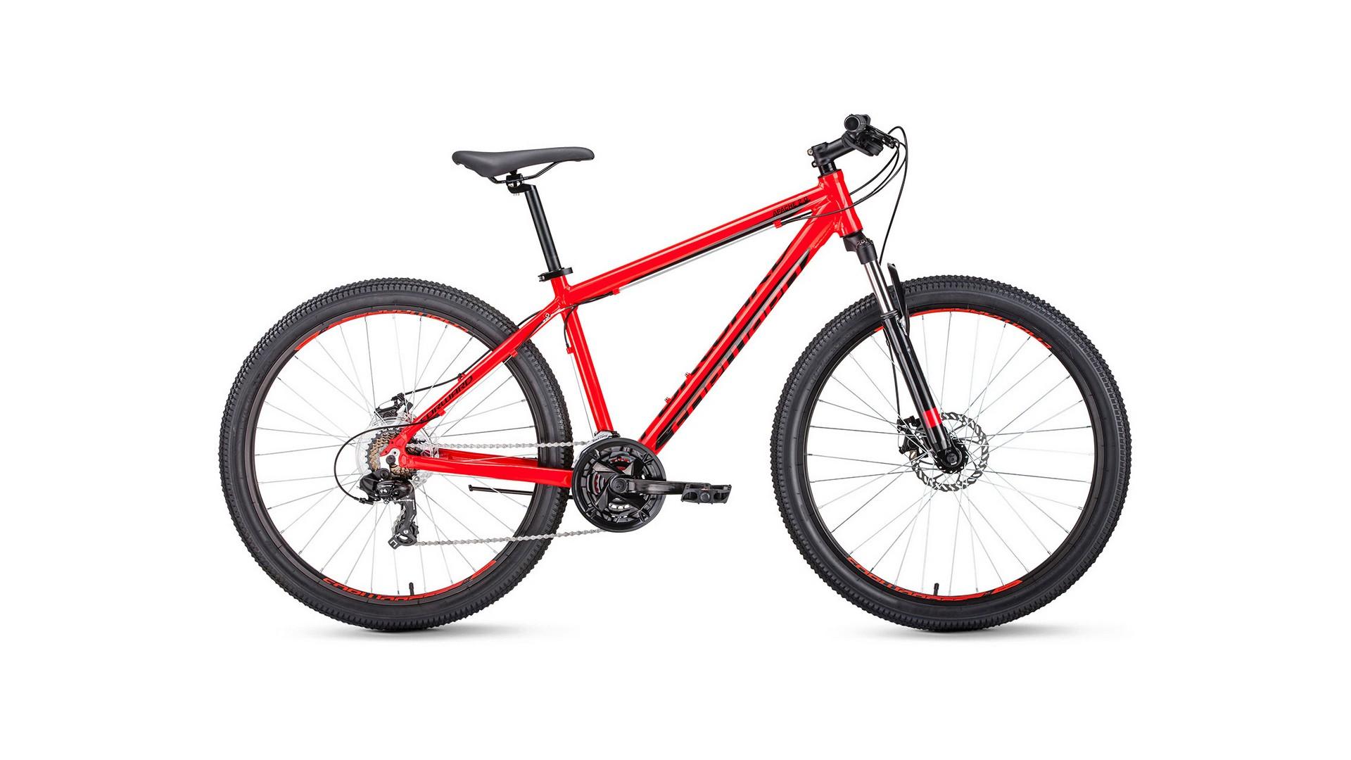 Велосипед FORWARD APACHE 29 2.0 disc (2020) красный 19\