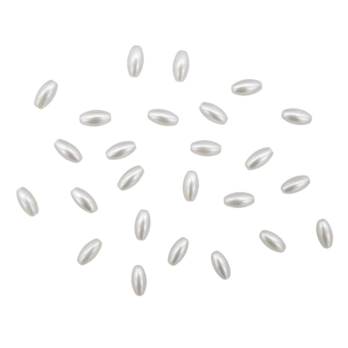 Купить Бусины пластиковые Астра 2379#, 6х11, 5 мм, 115 шт.,
