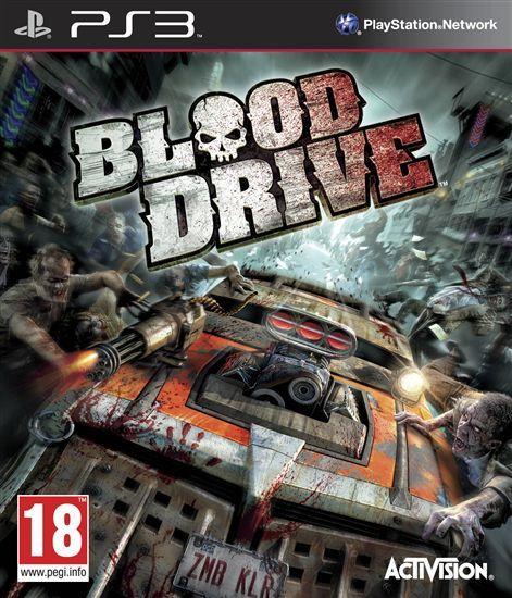Игра Blood Drive для PlayStation 3 Sony