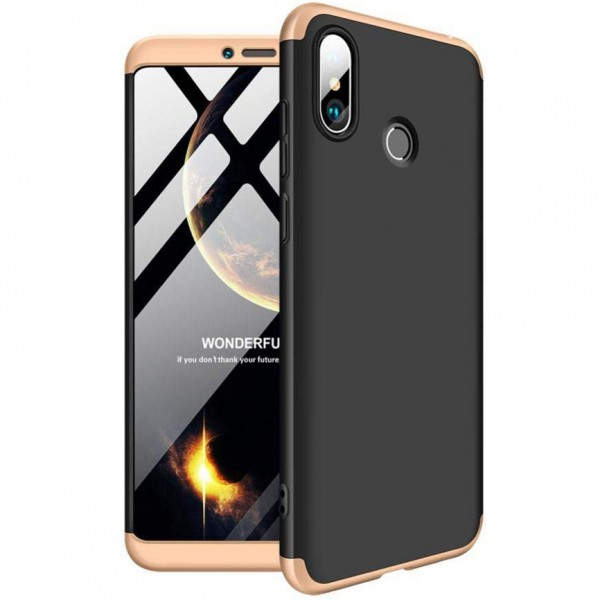 Чехол GKK LikGus для Xiaomi Mi Max 3 Black/Gold