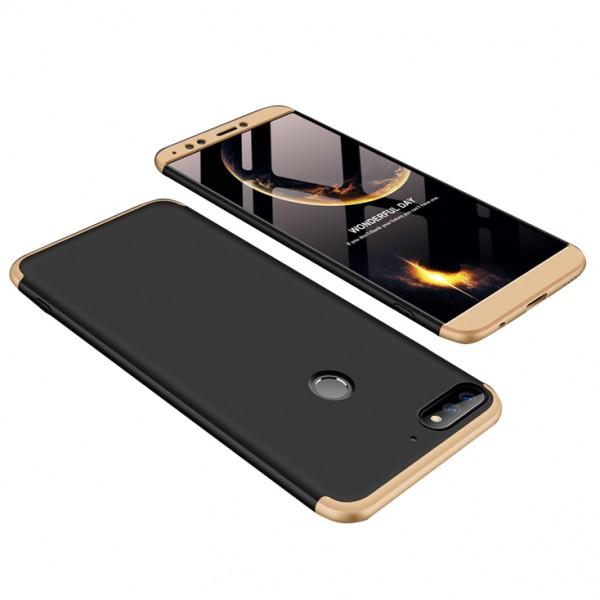 Чехол GKK LikGus для Huawei Honor 7A Pro/Y6 Prime 2018 Black/Gold