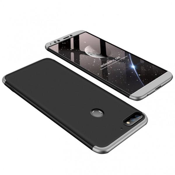 Чехол GKK LikGus для Huawei Honor 7A Pro/Y6 Prime 2018 Black/Silver