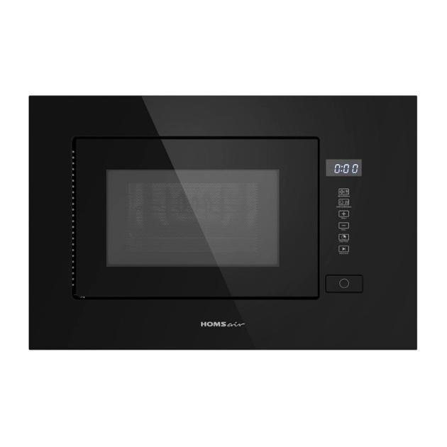Встраиваемая микроволновая печь HOMSair MOB205GB Black