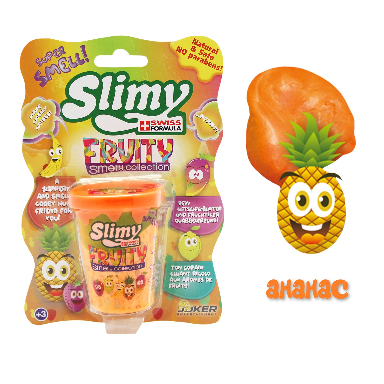 Лизун Slimy с фруктовым запахом ананаса