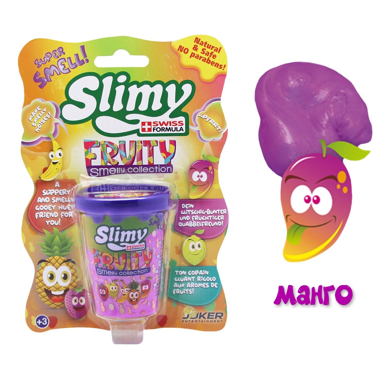 Лизун Slimy с фруктовым запахом манго
