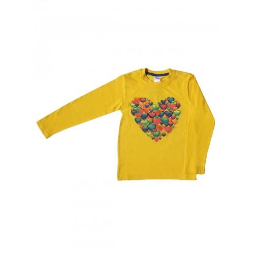 Джемпер для девочек Bella veza, цв. желтый;