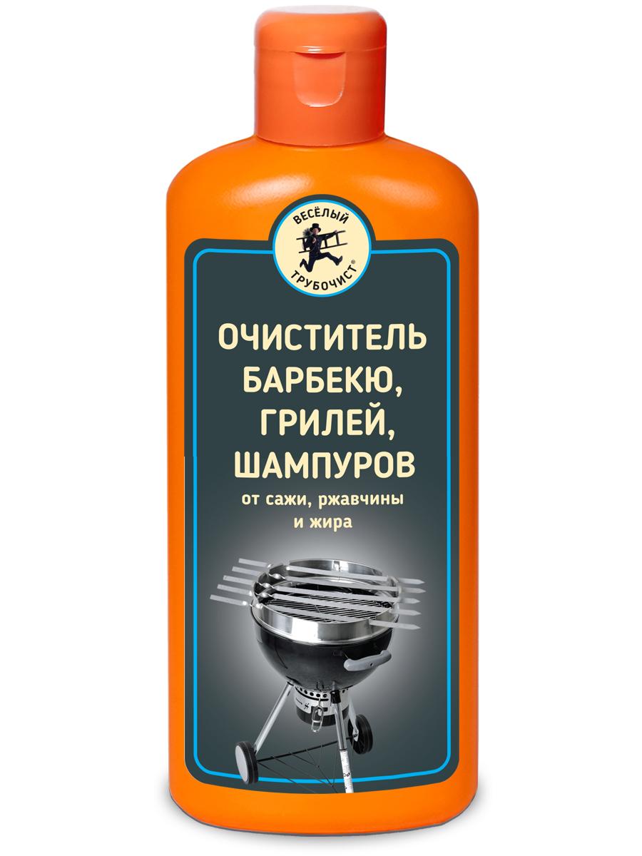 Очиститель Веселый трубочист барбекю, грилей и шампуров 250 мл 2 штуки фото