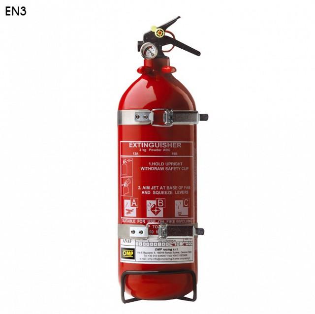 Огнетушитель (EN3), алюминий, 2кг, диам.108мм, порошок