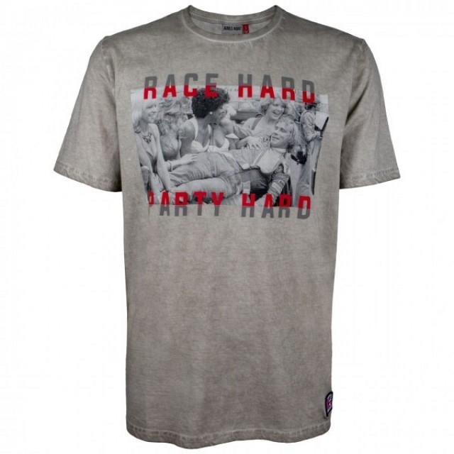 Футболка James Hunt Race Hard Party Hard
