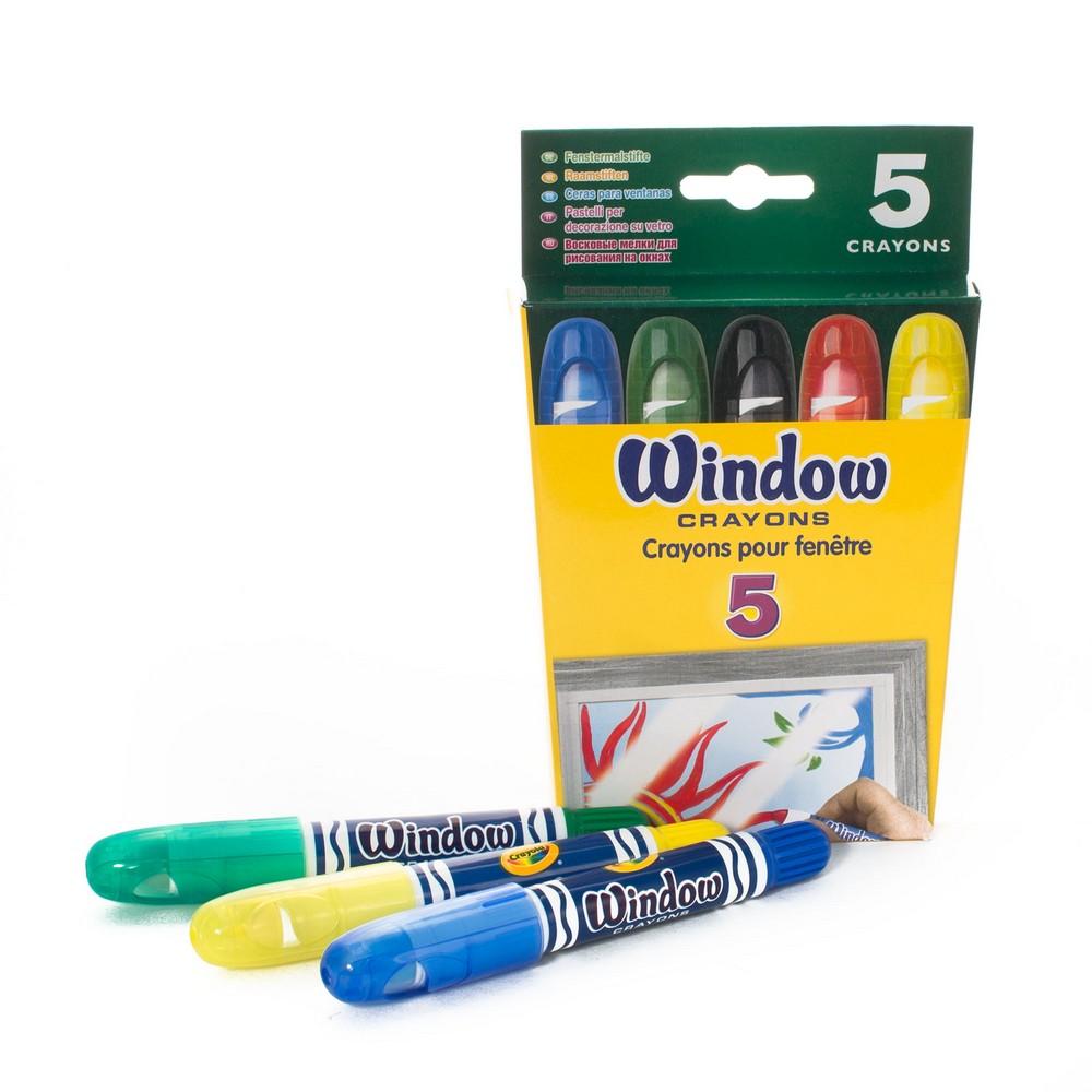 Купить Восковые мелки Crayola для рисования на окнах, Наборы мелков