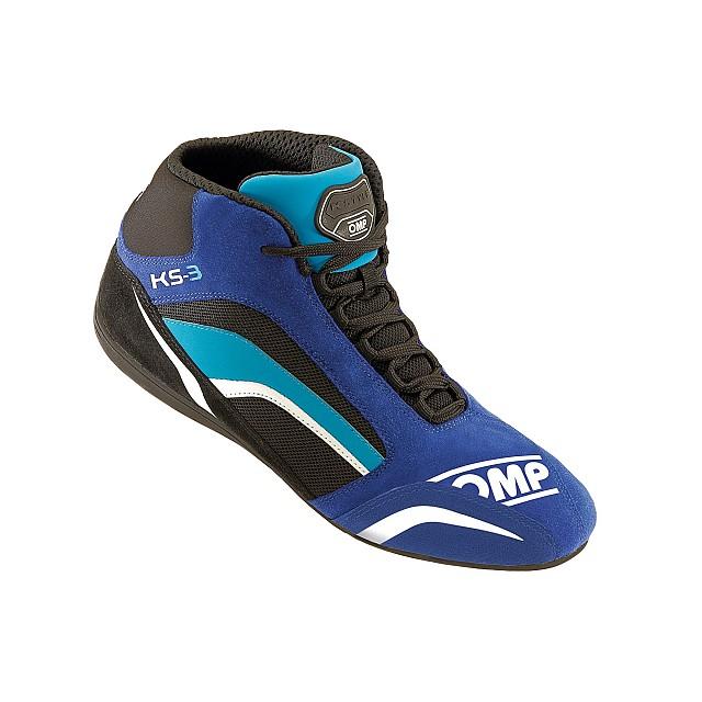 Ботинки для картинга KS 3, синий/черный/голубой,