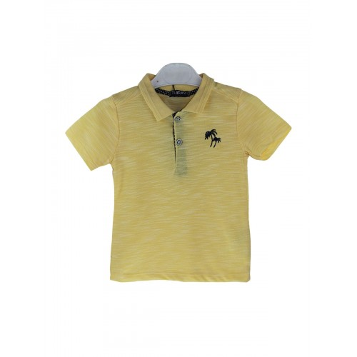 Рубашка поло для мальчиков TUFFY, цв. желтый, р-р 86