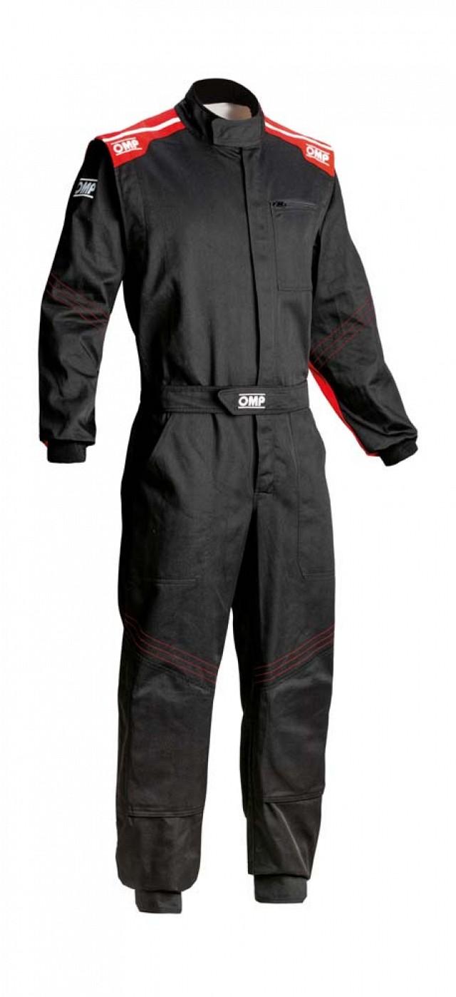 Комбинезон для механика Blast EVO, чёрный/красный