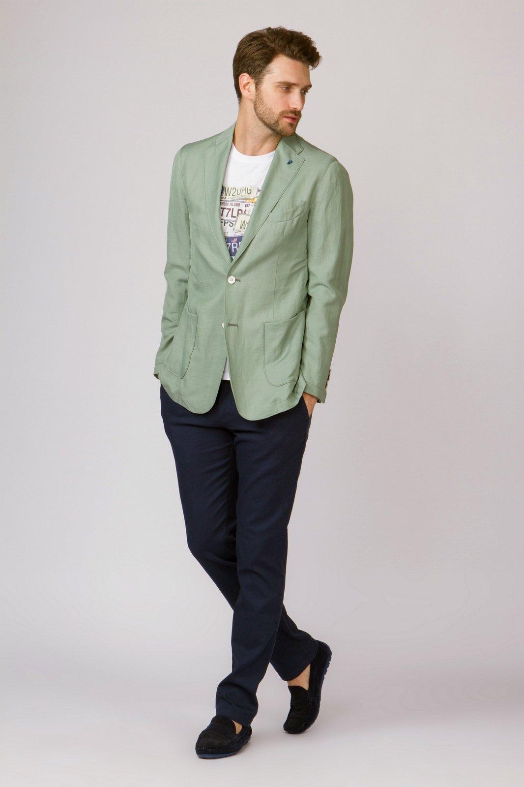 Пиджак мужской Kanzler 18S JST1/W04 WF/12 зеленый