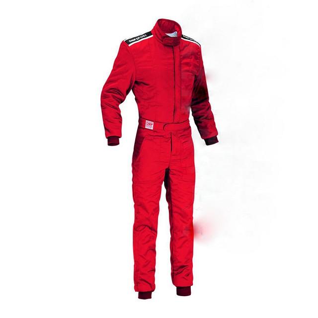 Комбинезон для автоспорта (FIA) SPORT красный,