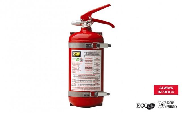Огнетушитель (по требованиям FIA), сталь, 2,4кг, диам.130мм,