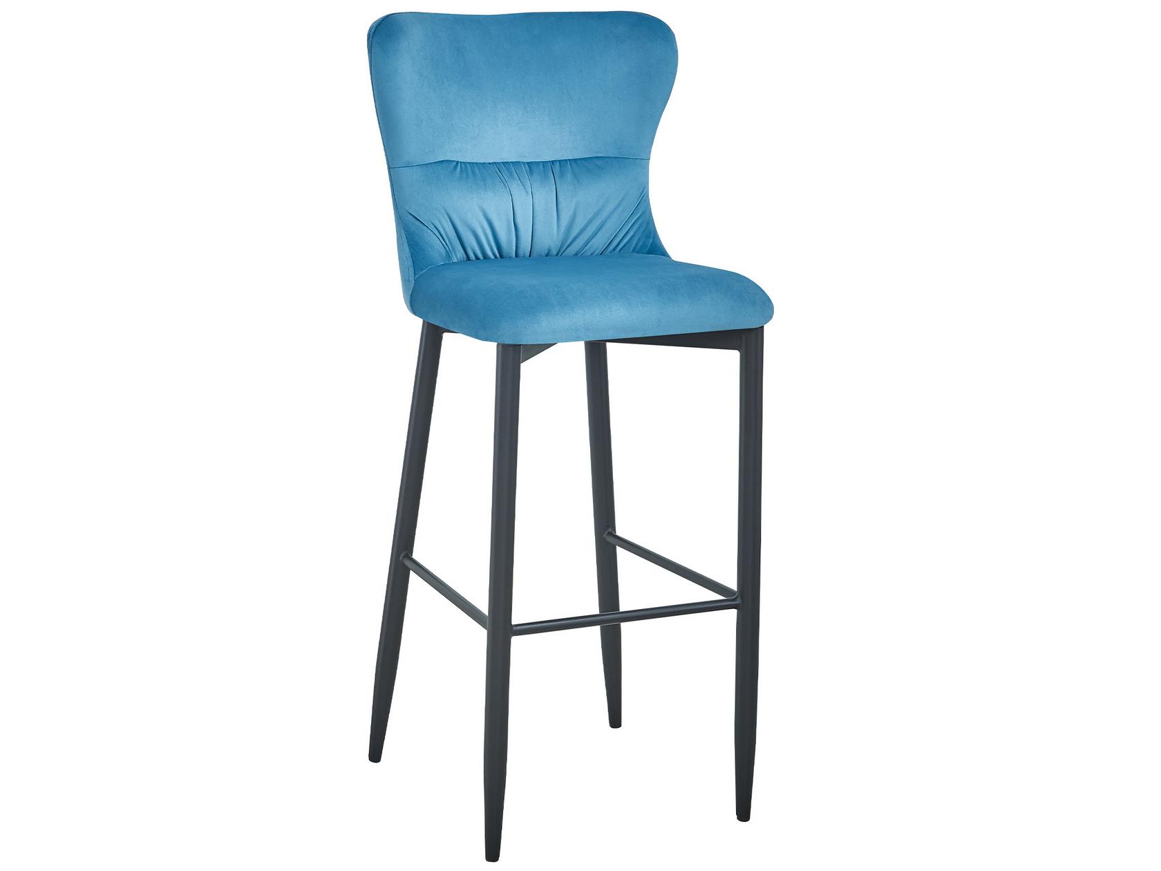 Барный стул STOOL GROUP Лилиан, черный/зеленый
