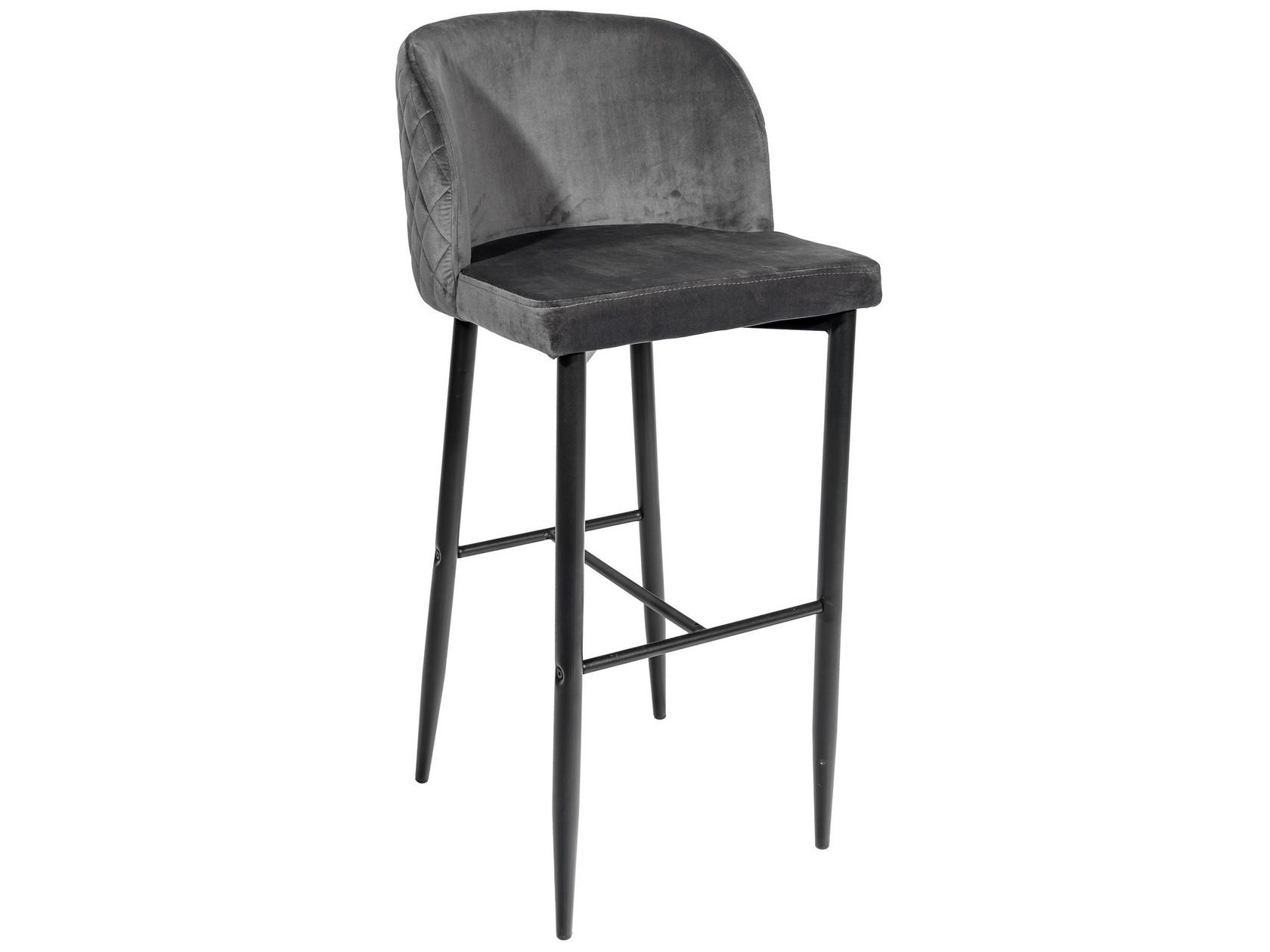 Барный стул STOOL GROUP MC11B, черный/серый
