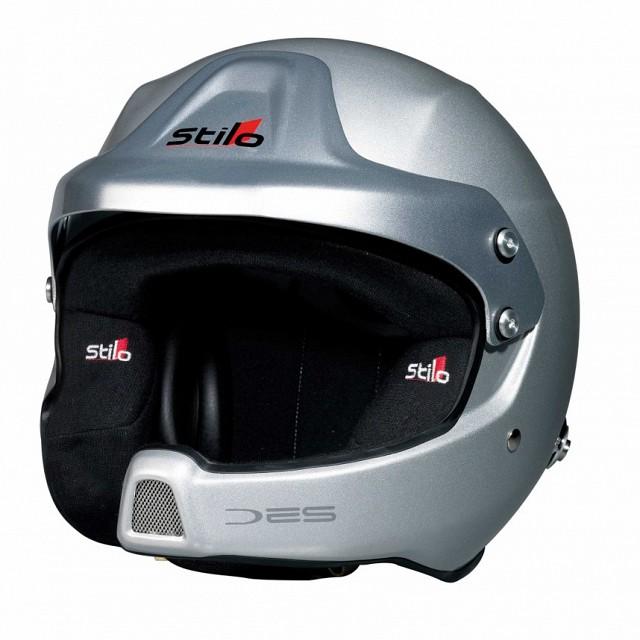 Шлем открытый WRC DES COMPOSITE, интерком, HANS,