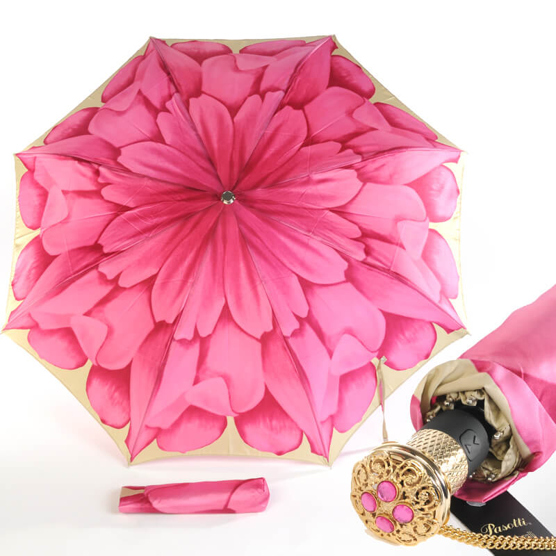 Зонт Pasotti Georgin розовый