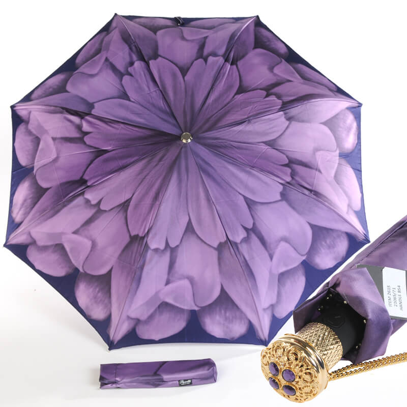 Зонт Pasotti Georgin фиолетовый