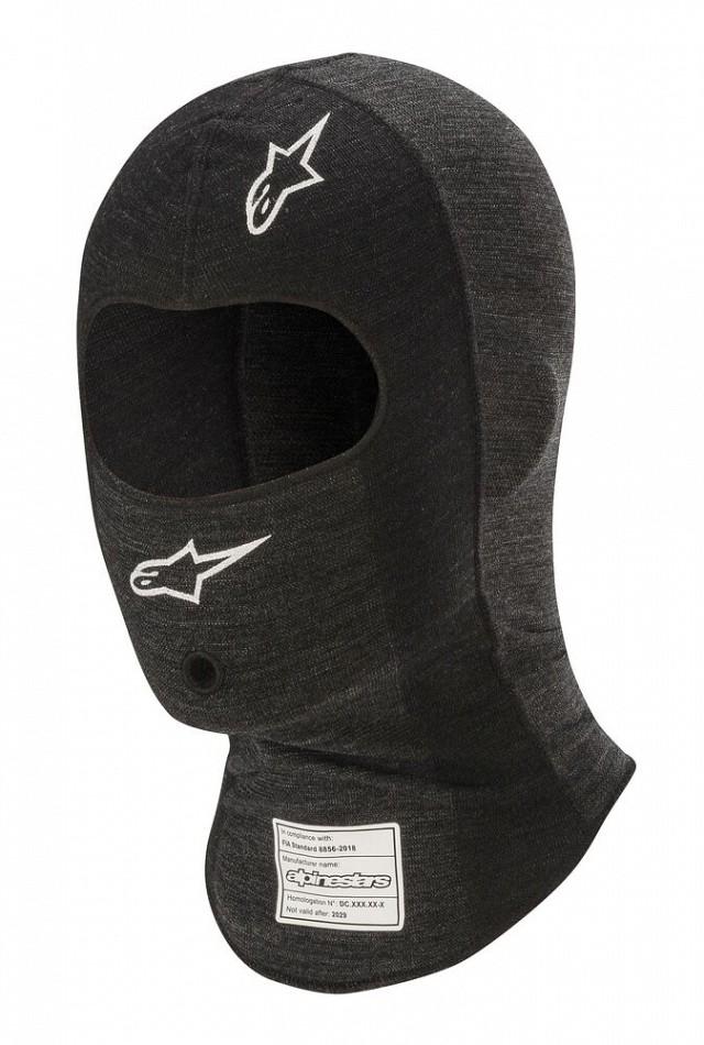Подшлемник для автоспорта ZX EVO v2,чёрный/серый,один размер