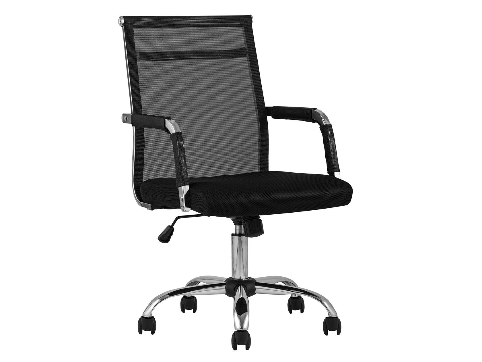 Офисное кресло TopChairsClerk Черный, сетка