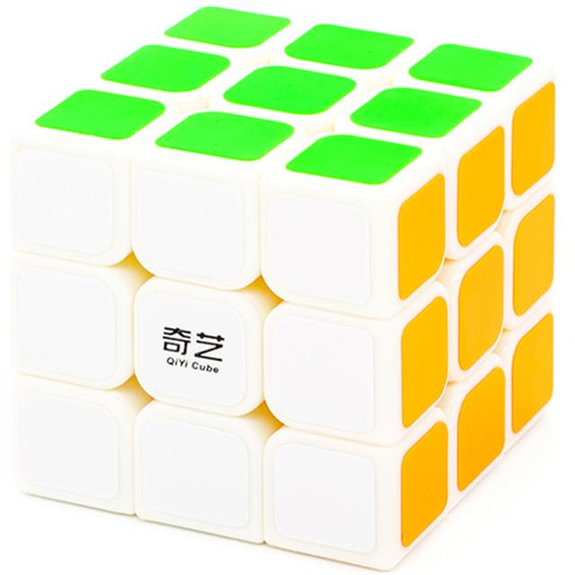 Купить Головоломка QiYi MoFangGe 3x3x3 Sail Белый, Игрушки головоломки