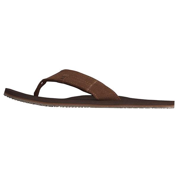 Вьетнамки мужские Billabong S5FF18-BIP0 коричневые 43 EU