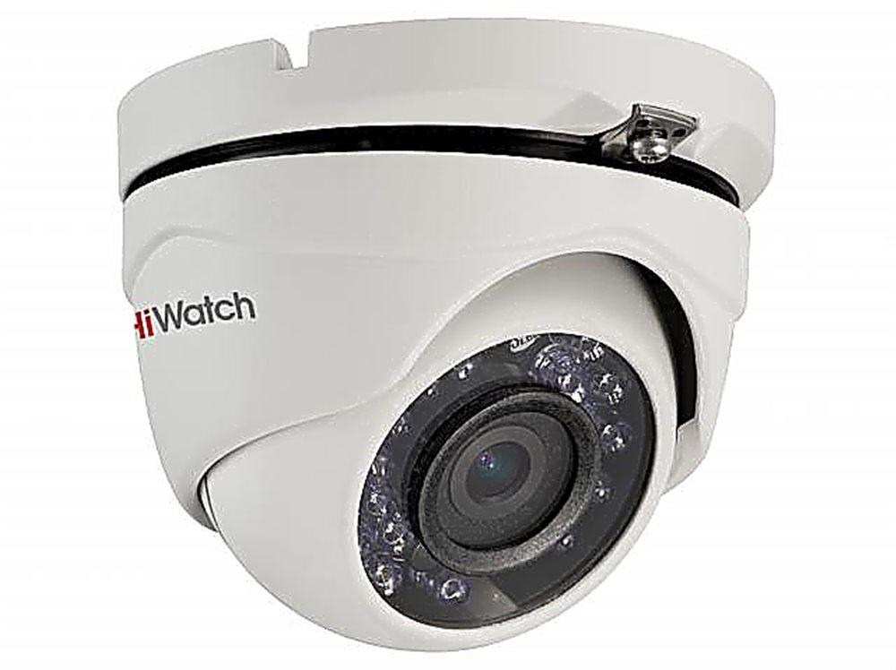 Камера DS T203 (B) (3.6mm). Уличная, купольная,