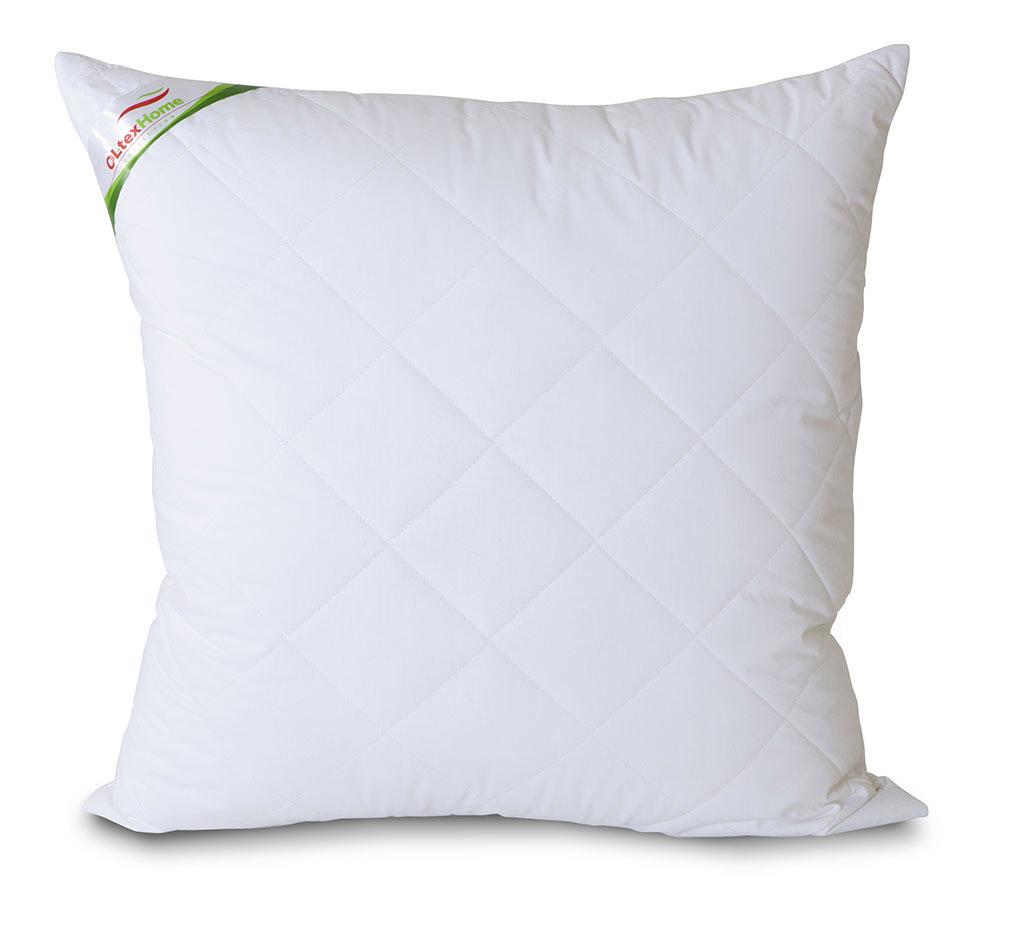 Подушка с бамбуковым волокном 70х70 белая