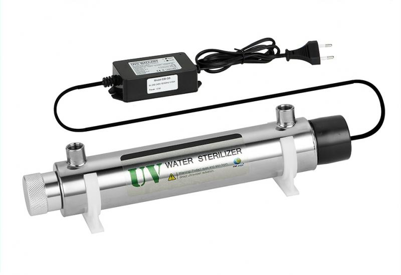 Стерилизатор воды с УФ лампой 6GPM