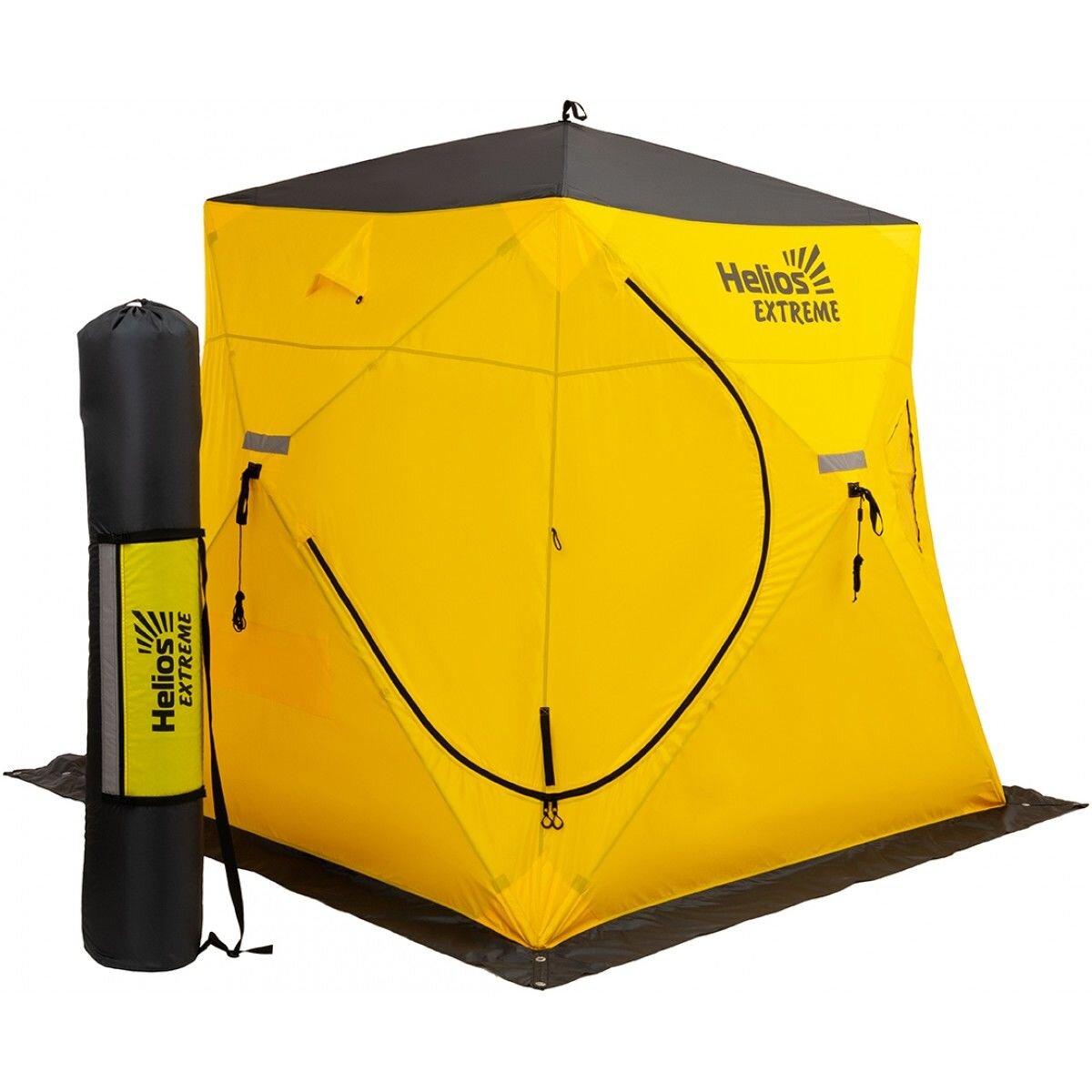 Палатка зимняя PIRAMIDA EXTREME 2,0х2,0 V2.0 (широкий вход)
