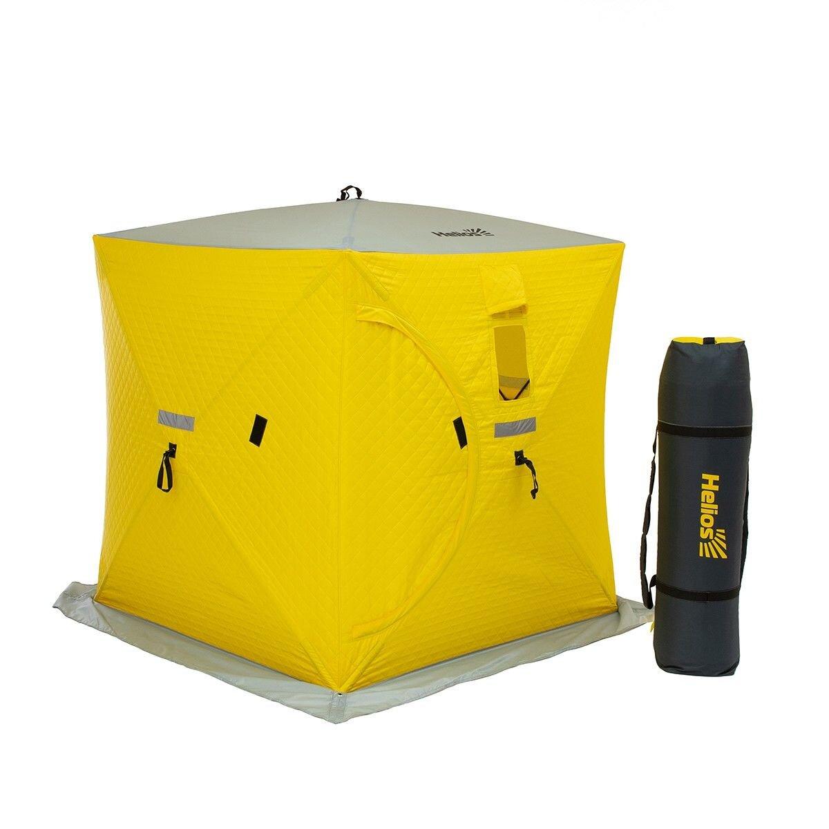Палатка зимняя куб 1,5х1,5 утепл.
