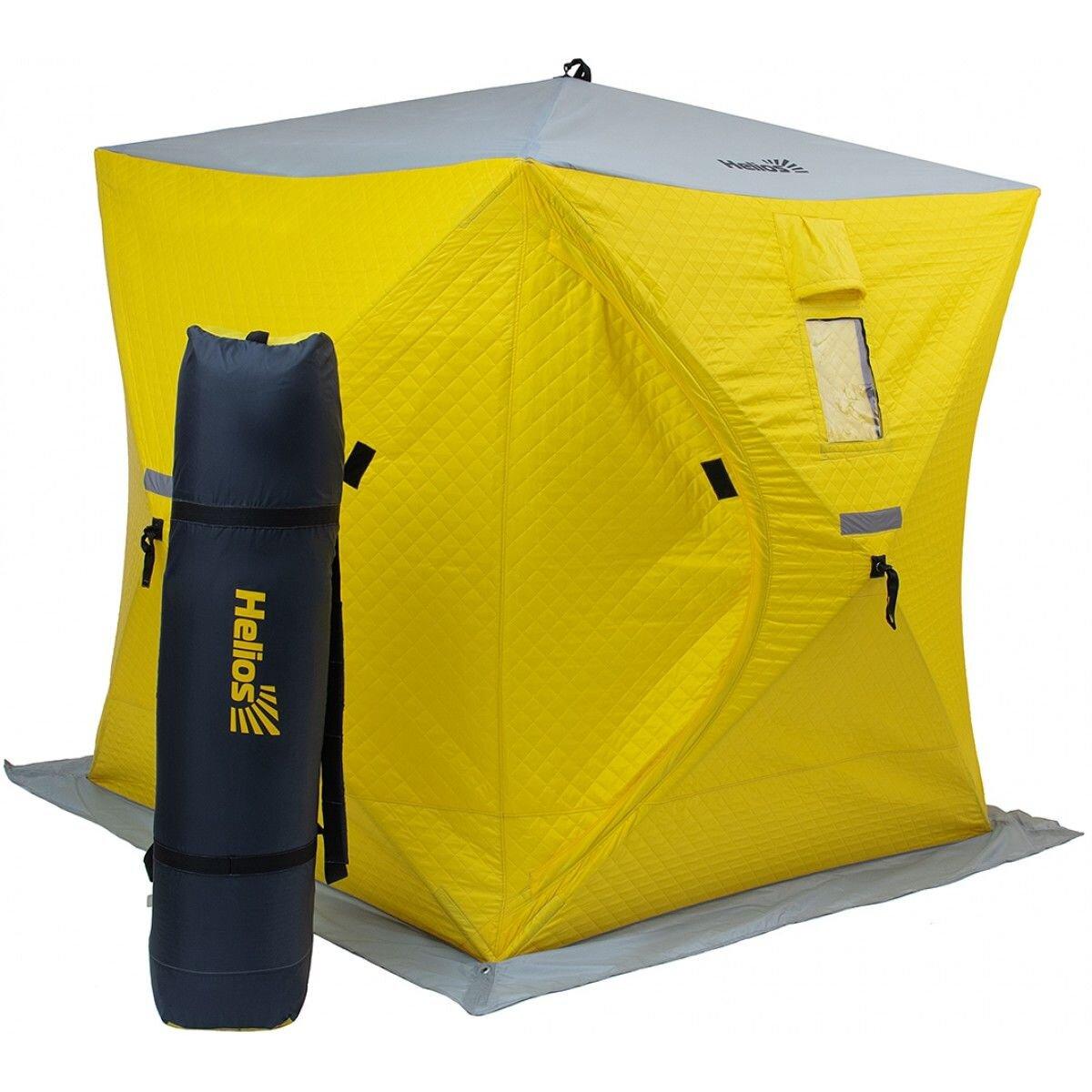 Палатка зимняя куб 1,8х1,8 утепл.
