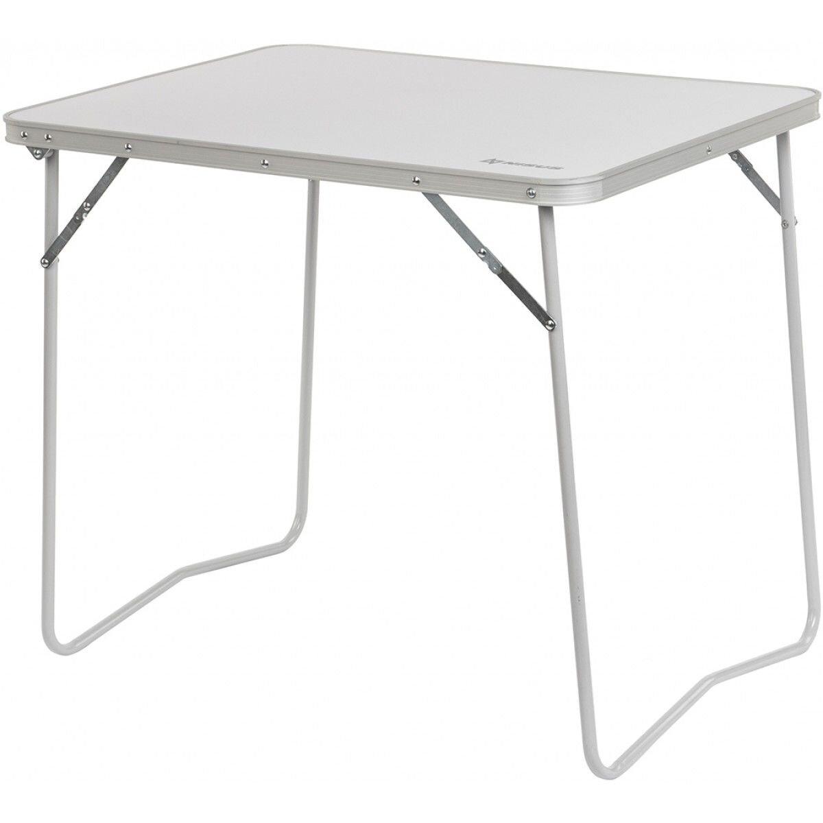 Туристический стол Nisus N-FT-21405S white-silver