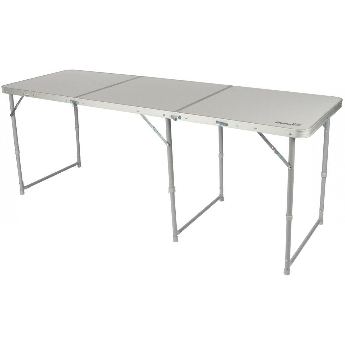 Туристический стол Helios Т-625 серый