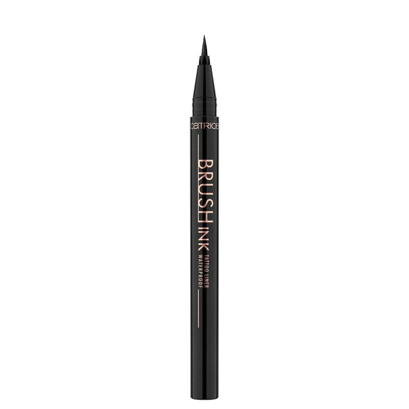 Купить Подводка для глаз CATRICE Brush Ink Tattoo Liner Waterproof 010 водостойкая