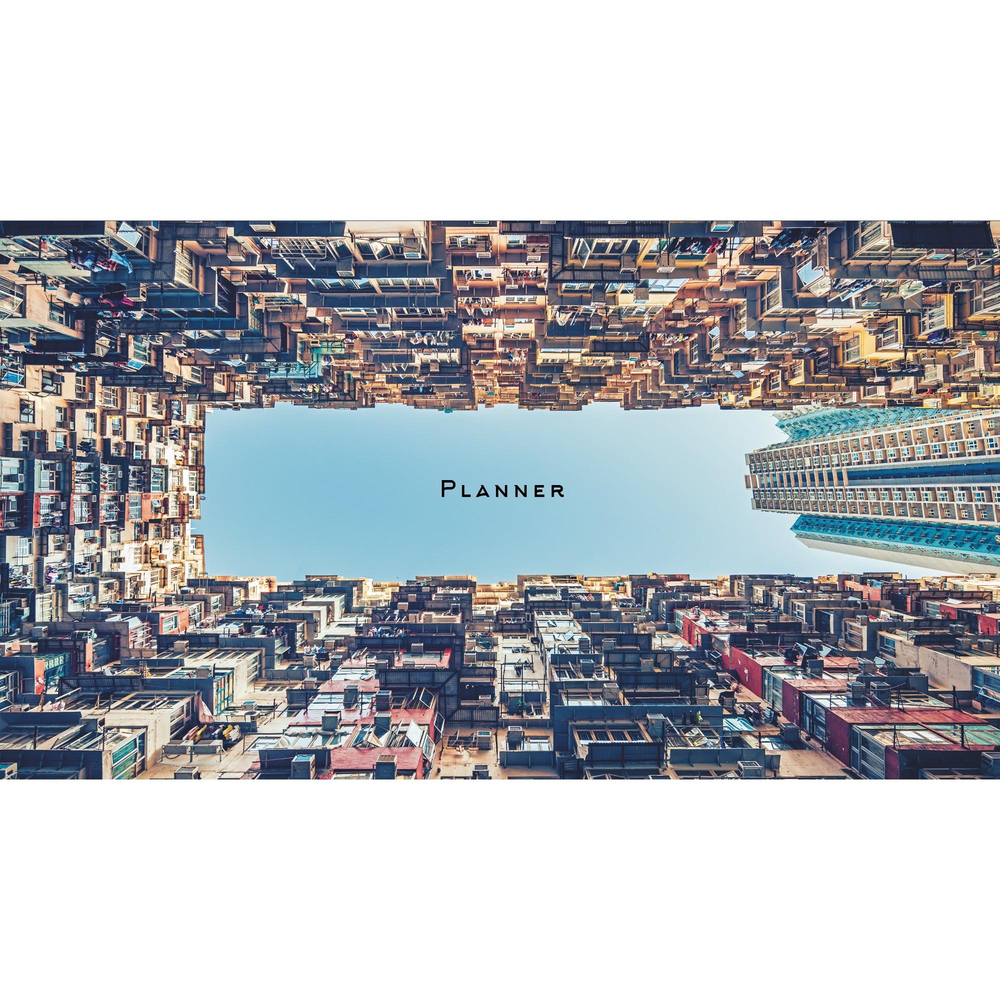 Планинг недатированный Listoff Дома Гонконга 64л ПКЛ2066407