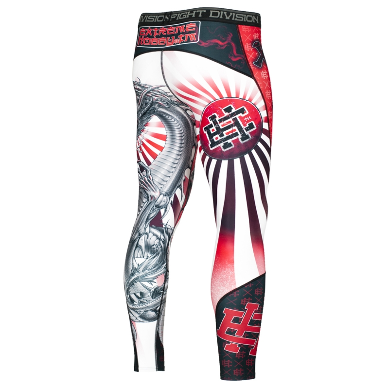 Компрессионные штаны Extreme Hobby Yakuza разноцветные, XXL, 190 см