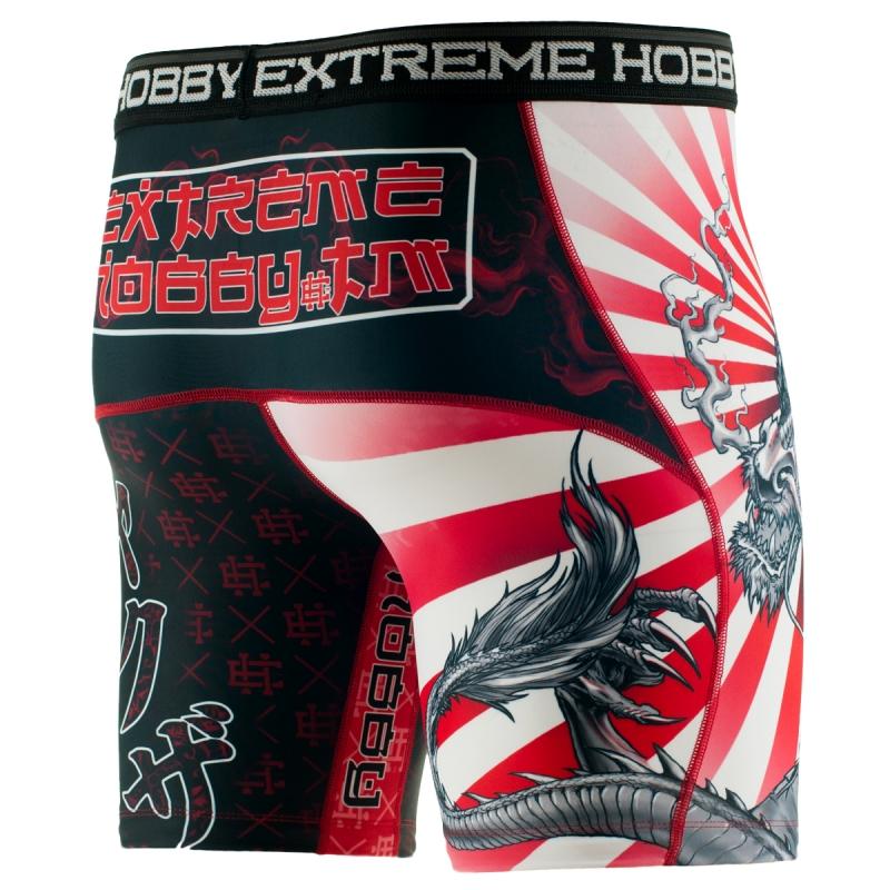 Компрессионные штаны Extreme Hobby Vale Tudo Yakuza разноцветные, S, 190 см
