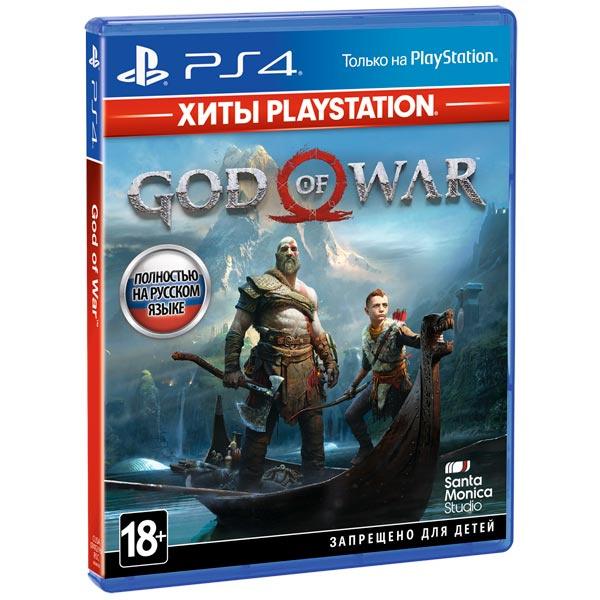 Игра God of War (Хиты PS) для PlayStation 4 фото