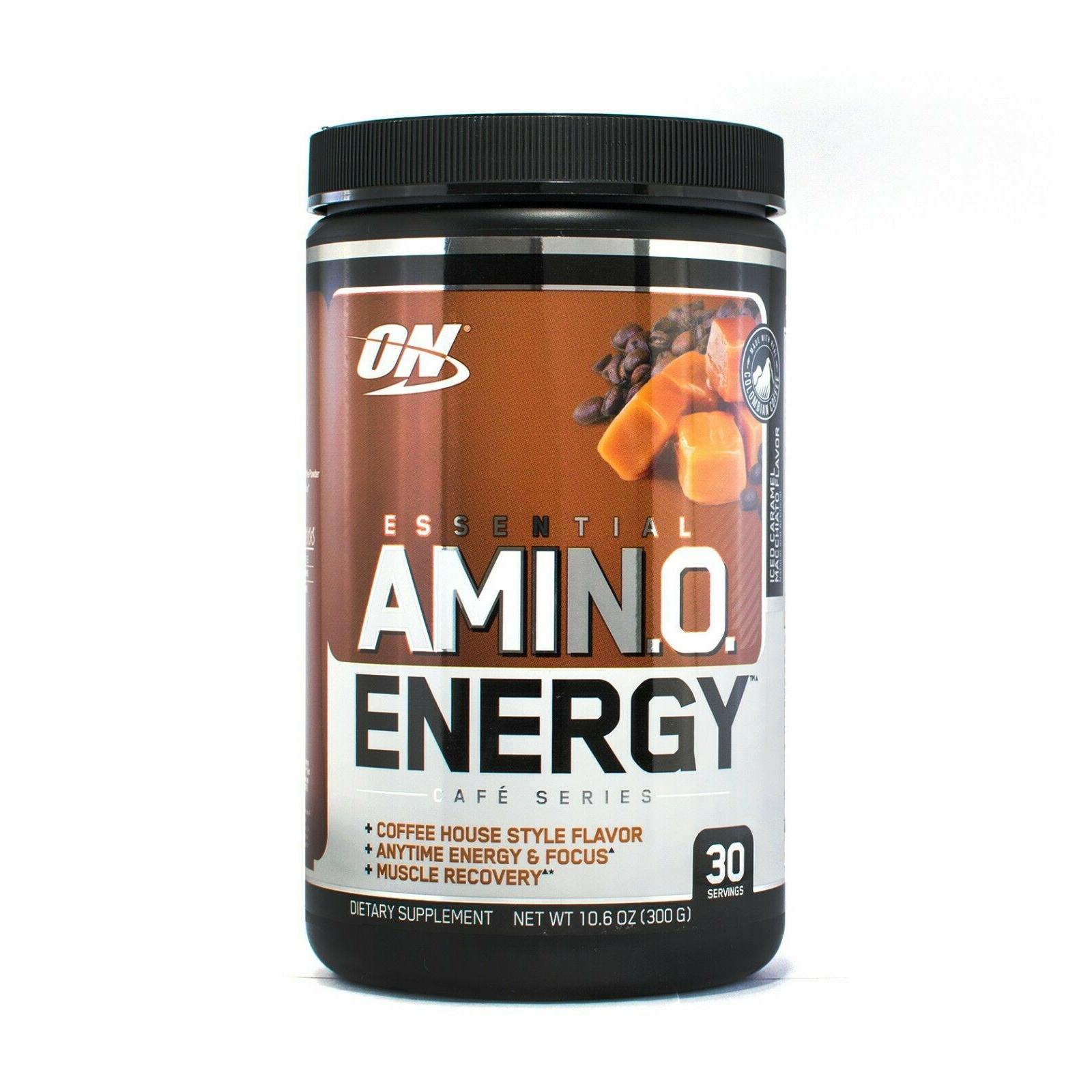 Optimum Nutrition Amino Energy 270 г caramel