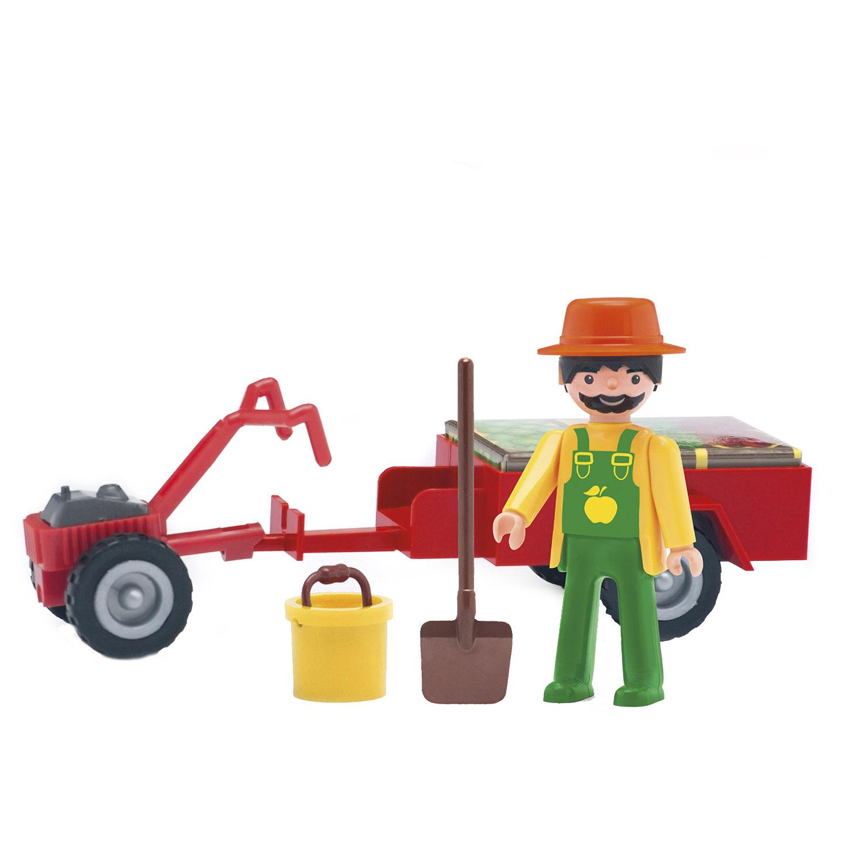 Игровой набор EFKO фермер 8 см