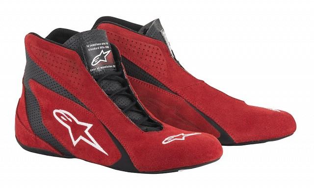 Обувь для автоспорта (FIA) SP, красный/чёрный,