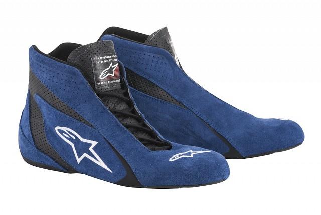 Обувь для автоспорта (FIA) SP,синий/чёрный,42,5 (9,5) Alpinestars